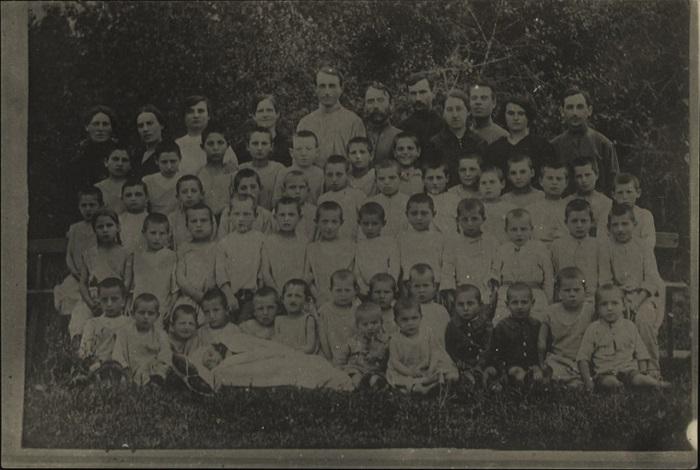 Местечко Схвира Киевской губернии, 1921 год.