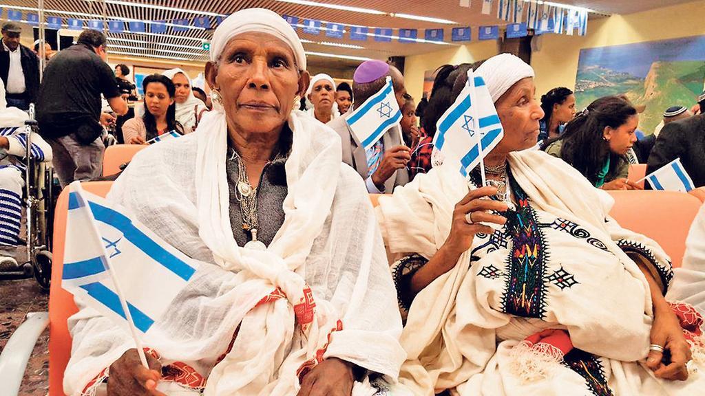 Прибытие очередной группы репатриантов из Эфиопии (Photo: Ephraim Barel )